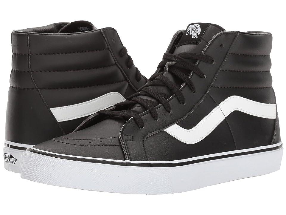 Vans SK8-Hi Reissue ((Classic Tumble) Black/True White) Skate Shoes