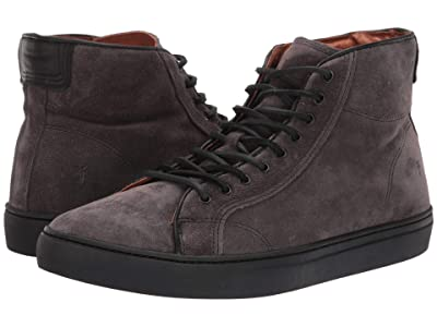 Frye Walker Midlace (Slate Oiled Suede) Men