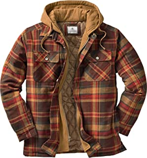 Legendary Whitetails mens Maplewood Hooded Shirt Jacket Jacket