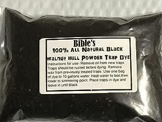 FPS 100% All Natural Black Walnut Hull Powder Trap Dye Trap Preparation