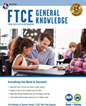FTCE General Knowledge 4th Ed., Book + Online (FTCE Teacher Certification Test Prep)