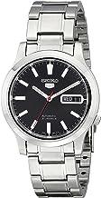 Seiko Men's SNK795 Seiko 5 Automatic Stainless Steel Watch with Black Dial