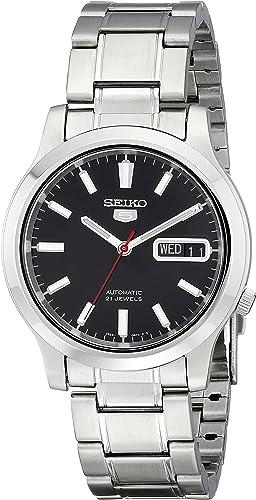 Amazon.com: SEIKO Men's SNK795 SEIKO 5 Automatic Stainless Steel Watch with Black  Dial : Seiko: Clothing, Shoes & Jewelry