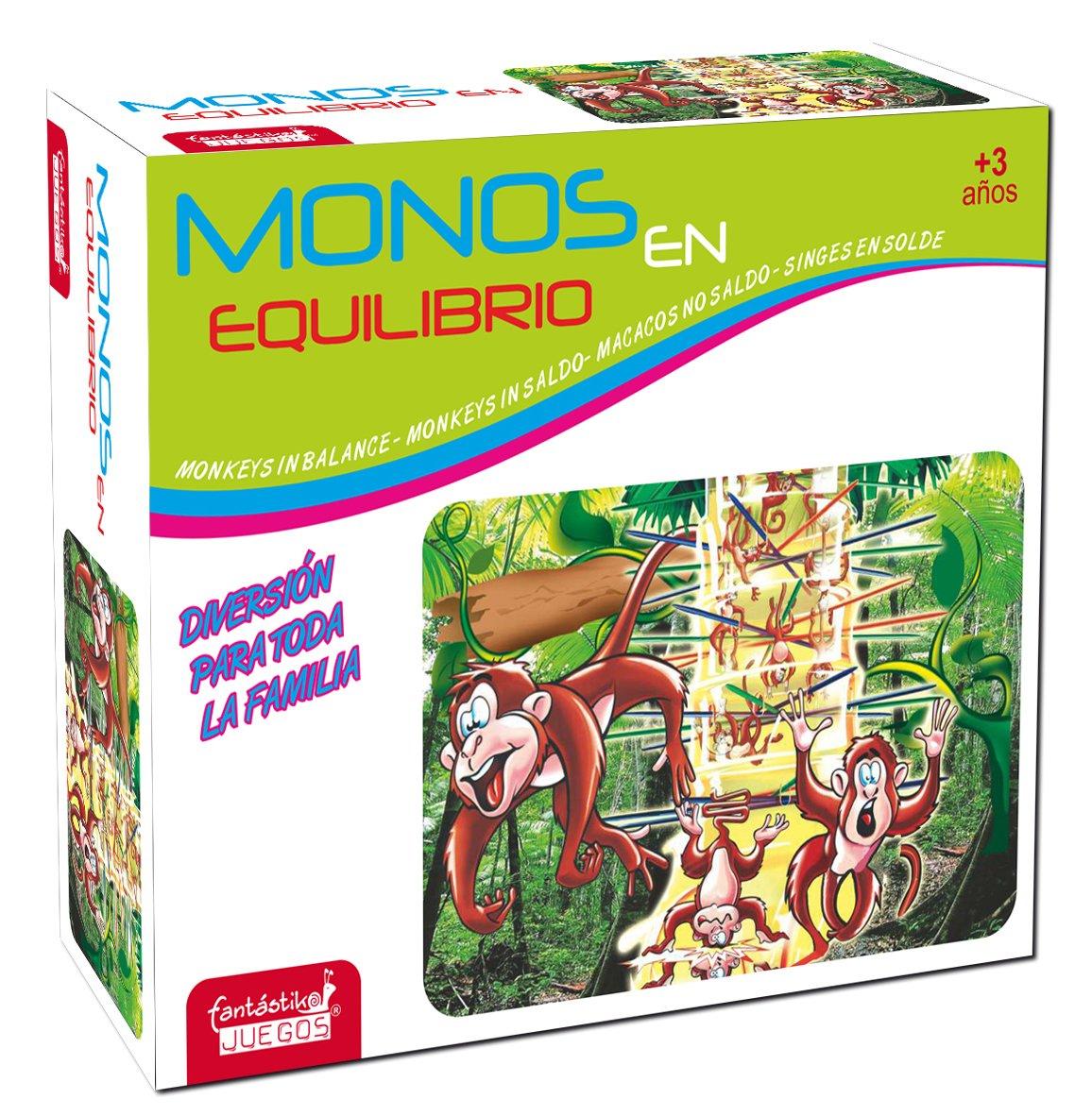 JUINSA- Juego Monos Quita la Rama, Multicolor, 21 x 27 cm (9843): Amazon.es: Juguetes y juegos