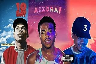 Big mart collection Chance The Rapper Singer ACIDRAP 10 Day Coloring Book Mixtape 12 x 18 Inch Multicolour Famous Poster