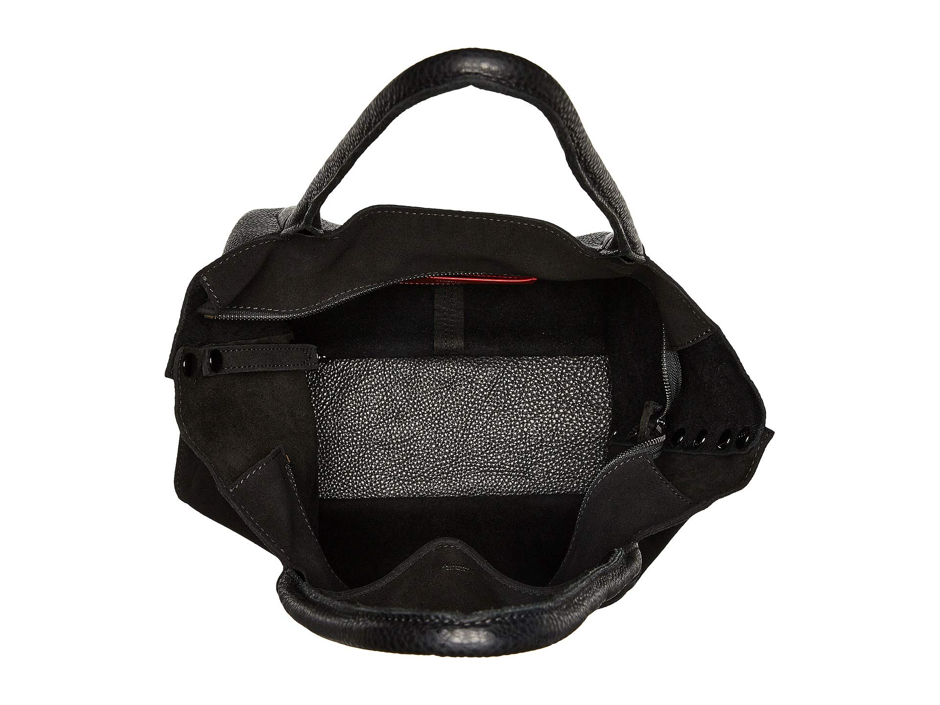 Zip gunmetal Suede Space black Oliver Hammitt vwqX5xHC1