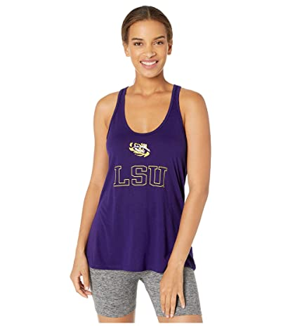 Champion College LSU Tigers Eco(r) Swing Tank Top (Champion Purple 3) Women