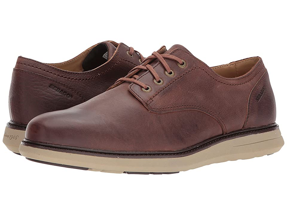 Sebago Smyth Plain Toe (Brown Leather) Men