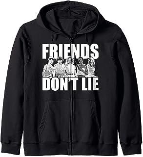 Netflix Stranger Things Friends Don't Lie Group Shot Sweat à Capuche