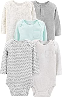 Baby 5-Pack Long-Sleeve Bodysuit