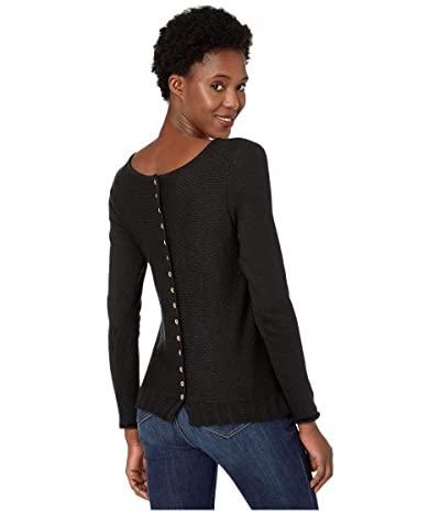 NIC+ZOE Back Country Sweater (Black Onyx) Women