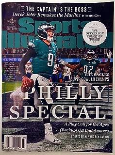 philadelphia eagles super bowl magazine