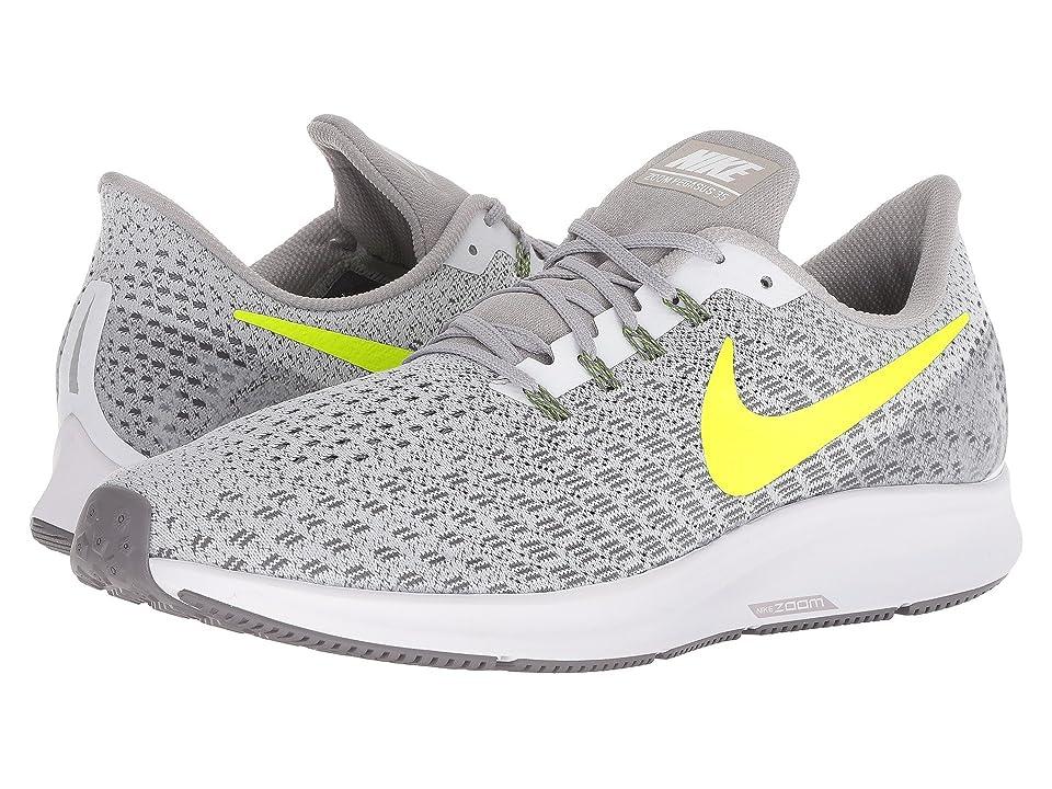 Nike Air Zoom Pegasus 35 (White/Gunsmoke/Atmosphere Grey/Volt) Men