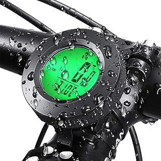 GUUVOR Contachilometri Bici,Computer da Bicicletta,Multifunzione Contachilometri da Bicicletta Computer con Sensore di Movimento,Retroilluminato Contachilometri da Bicicletta Sensore di Movimento