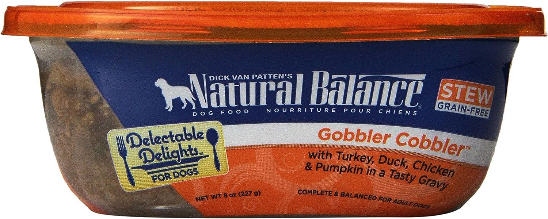 Dick Van Patten'S Natural Balance Natural Balance Delectable Delights Gobbler Cobbler Dog Stew