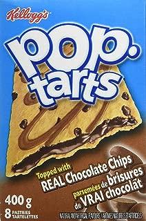 Kellogg's Pop Tarts Toaster Pastries, Chocolate Chip 8 Pastries 400 Gram