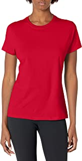 Hanes Women's Nano T-Shirt, X-Large, Deep Red