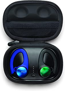 Plantronics Backbeat Fit 3150 Earbuds, Black and Blue