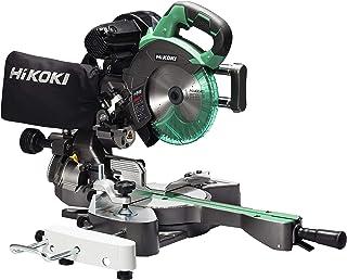 HiKOKI(ハイコーキ) 旧日立工機 卓上スライド丸のこ AC100V 刃径190mm 両傾斜 切断幅1尺(312mm) 内装材・フロア材切断 レーザーマーカー・LEDライト内蔵 チップソー付き C7RSHD