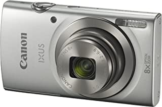 Canon IXUS 185 Digital Camera(IXUS185S) 2.7 Inch display,Silver (Australian warranty)