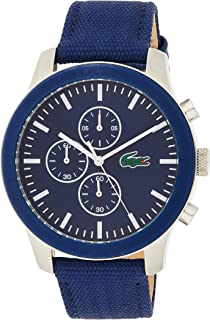 Lacoste Mens Quartz Watch, Chronograph Display and Silicone Strap 2010945