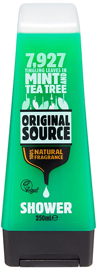 コーンわかりやすい発見するOriginal Source Mint and Tea Tree Shower Gel 250 Ml by Original Source