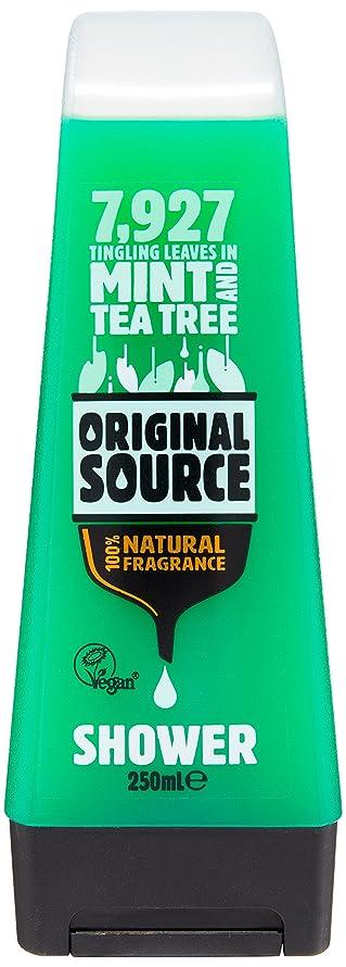 彼らはイーウェル気候の山Original Source Mint and Tea Tree Shower Gel 250 Ml by Original Source