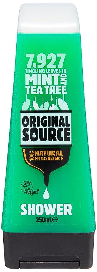 ヒット接触要塞Original Source Mint and Tea Tree Shower Gel 250 Ml by Original Source