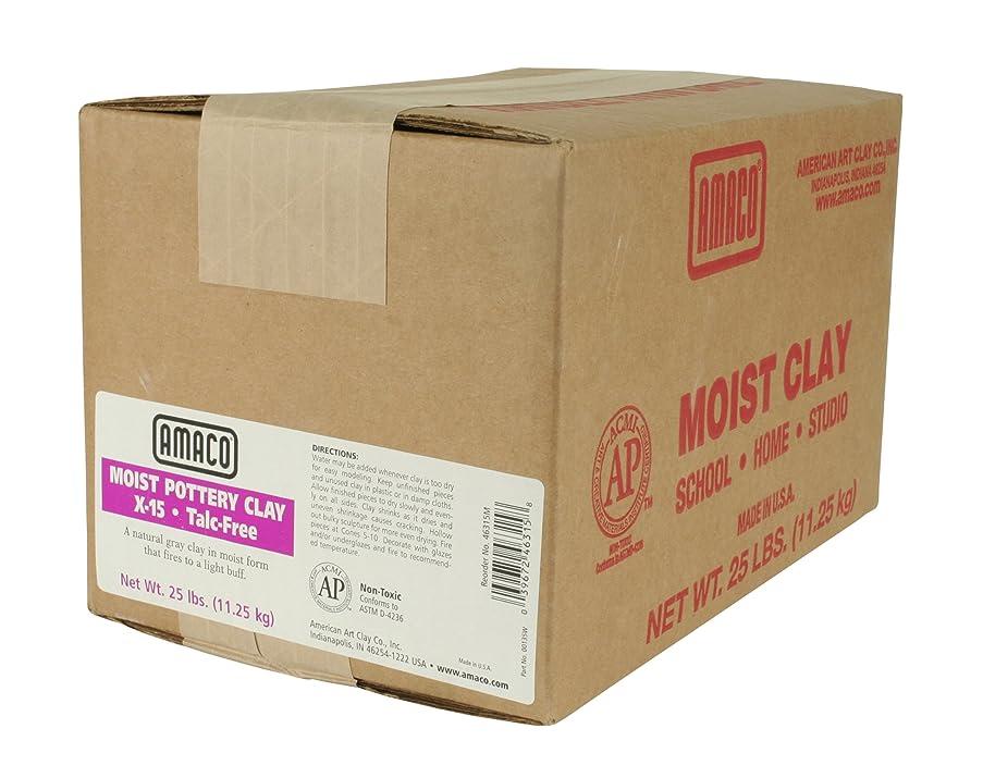 AMACO 25 -Pound Moist Pottery Clay