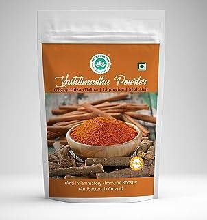 PRAKRUTAGRO Pure Yashtimadhu (Mulethi) Powder Immunity Booster and antibacterial - 200 Grams Each