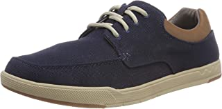Clarks Men's Step Isle Lace Navy Sneakers
