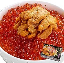 母の日 プレゼント ギフト 贈答用 人気 ランキング 海鮮 うに いくら 丼 3~4人前(無添加うに 醤油漬けいくら 海鮮セット) (通常商品)