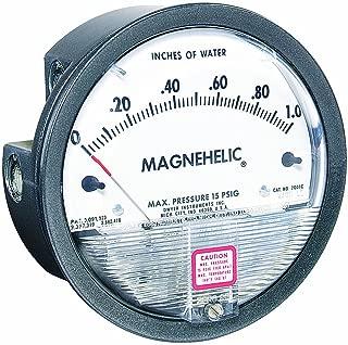 Dwyer Magnehelic Series 2000 Differential Pressure Gauge, Range 0-2 psi