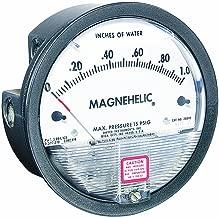 Dwyer Magnehelic Series 2000 Differential Pressure Gauge, Range 0-0.25