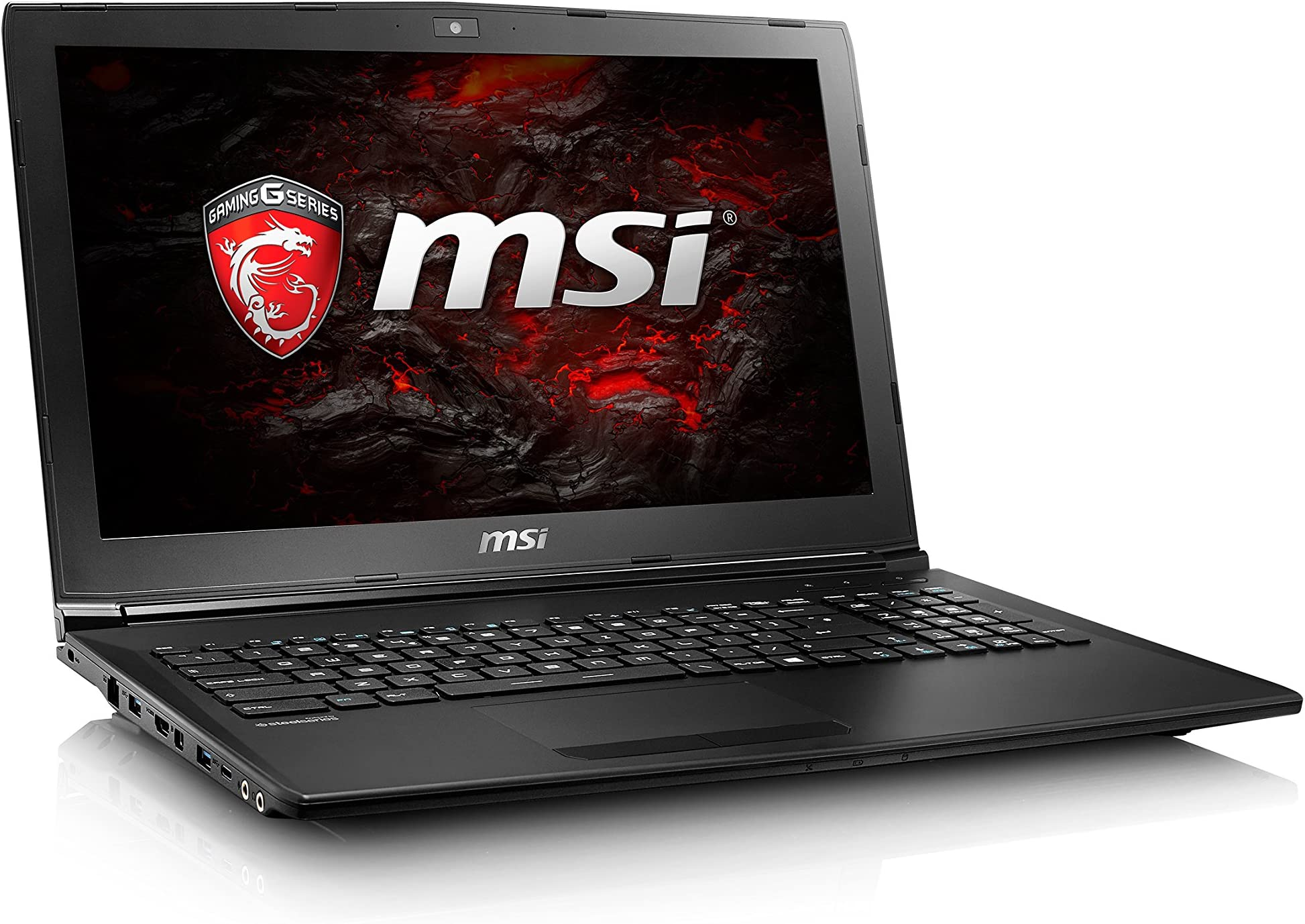"MSI GL62M 7RE-623 94% NTSC 15.6"" Gaming Laptop GTX 1050Ti i7-7700HQ 8GB 1TB HDD Windows 10"