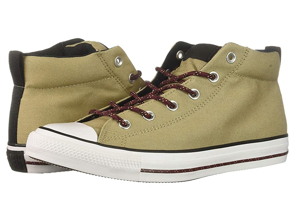 Converse Chuck Taylor(r) All Star(r) Street Mid (Khaki/Black/White) Men