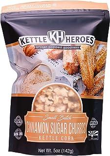 Kettle Heroes, Cinnamon Sugar Churros Kettle Corn 5 Oz.