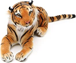 VIAHART Arrow The Tiger   2 ft Long (Paw to End of Tail) Stuffed Animal Plush Cat   by Tiger Tale Toys