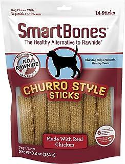SmartBones Churro Style Sticks Chicken Rawhide Free - 10.86