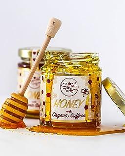 Natural Honey with Organic Saffron - 220g