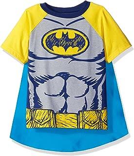 Superman & Batman Toddler Boys' Cape T-Shirt Set