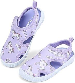 scamper Toddler Children Baby Sport Sandals Sneakers Shoes Infant Boys Girls Comfortable Beach Mesh Running Blue,21-30