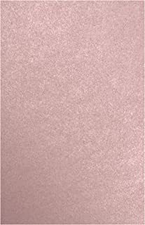 $46 » 11 x 17 Cardstock - Misty Rose Metallic - Sirio Pearl (50 Qty.) | Perfect for Crafting, Invitations, Scrapbooking, Art Pro...