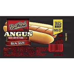 Ball Park, Angus Beef Franks Bun Size, 14 oz