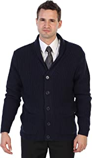 Gioberti Men's Shawl Collar Knitted Regular Fit Cardigan