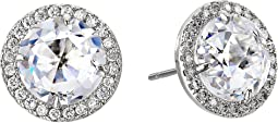 Kate Spade New York - Bright Ideas Pave Halo Stud Earrings