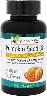 Pumpkin Seed Oil Aceite de Semilla de Calabaza 1000Gr .100 Softgels