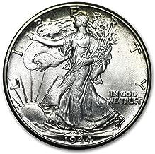 1944 Walking Liberty Half Dollar BU 1/2 Brilliant Uncirculated