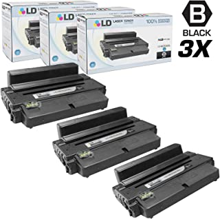 LD Compatible Toner Cartridge Replacement for Samsung MLT-D205L High Yield (Black, 3-Pack)