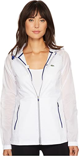 Lacoste - Transparent Taffetas Hoodie Jacket